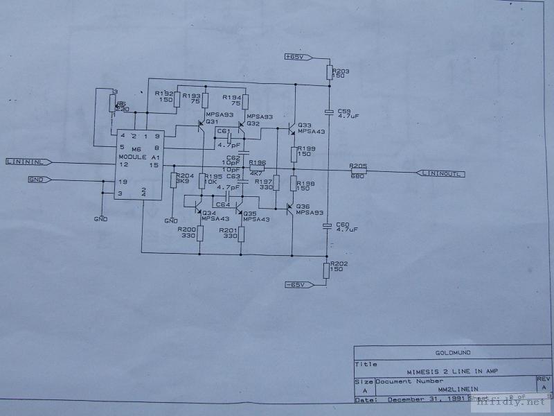 特发图一张-音乐传真a1功放电路图