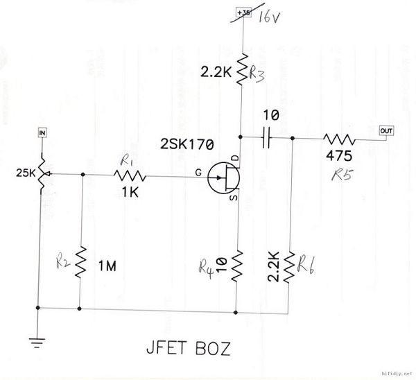 高频前级驱动电路图