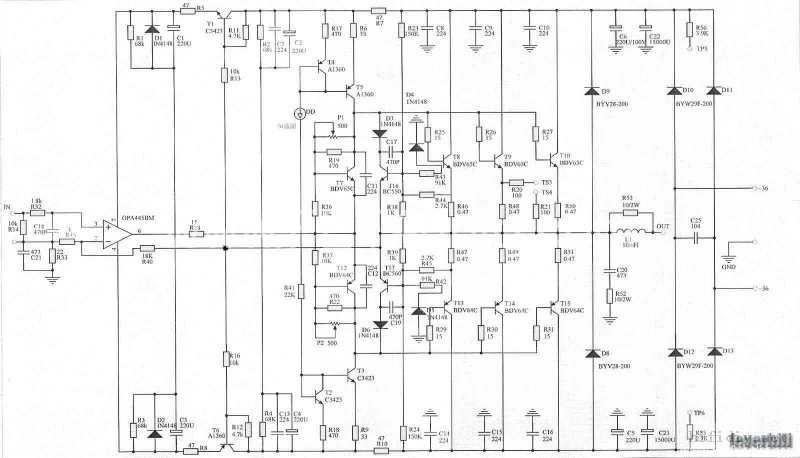 mbl 后级电路图